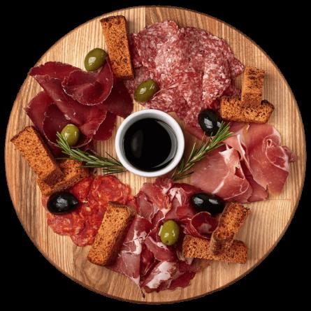 Мікс італійських м'ясних делікатесів